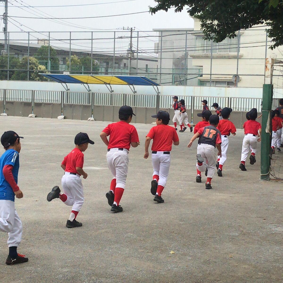 Cチームのスタートは池ノ上小学校から