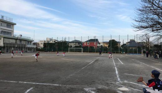 Cチーム vs. 緑ヶ丘ジャイアンツ@調布市立第八中学校
