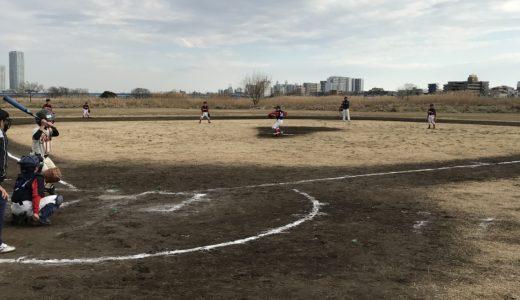 Cチーム vs. リトルジャイアンツ@二子玉川緑地