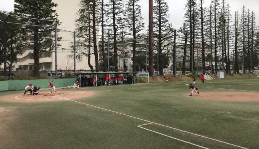 Cチーム vs. 渋谷レッドソックス@世田谷公園
