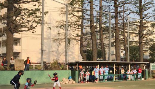 Cチーム vs. 中目黒イーグルス@世田谷公園