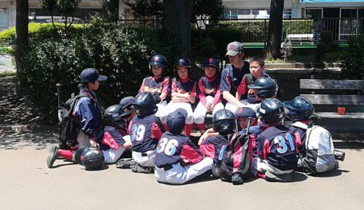Cチーム下馬リーグ交流戦 vs.杉一野球クラブ@子どもの広場公園