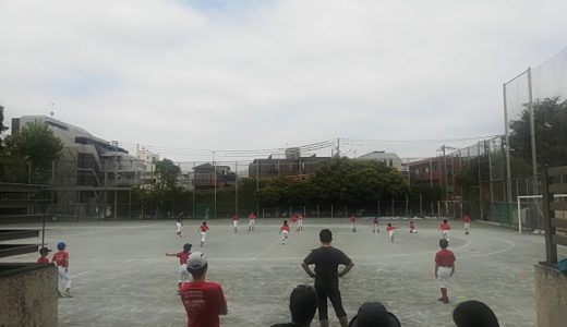 Cチーム練習@北沢中 やきそば付き!