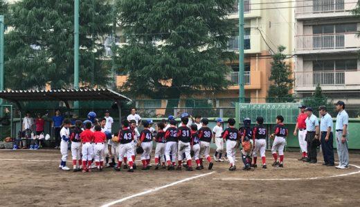 Cチーム vs. 下馬ジュニアクラブ