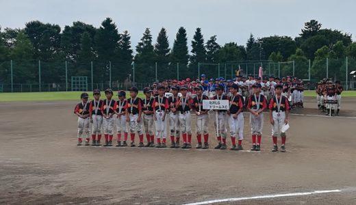 世田谷区北部地区少年野球大会~Ⅽチーム銅メダル獲得!羽根木の暑い夏2019~