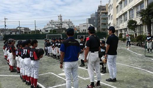 Cチーム世田谷リーグ vs太子堂ファルコンズ@太子堂中