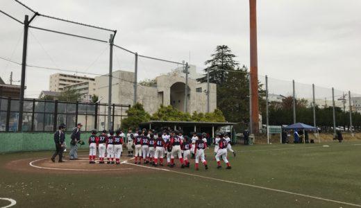 Cチーム 世田谷区少年野球連盟秋季大会 低学年 準優勝!